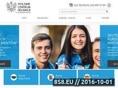 Miniaturka domeny www.pl.edu.pl