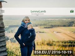 Miniaturka domeny pl.lennylamb.com