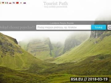 Zrzut strony Touristpath