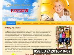 Miniaturka domeny place-zabaw.expodrew.pl