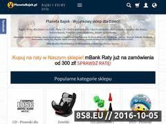 Miniaturka domeny planetabajek.pl