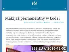 Miniaturka domeny www.planetavet.pl