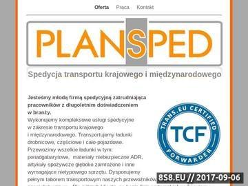Zrzut strony Transport krajowy i międzynarodowy