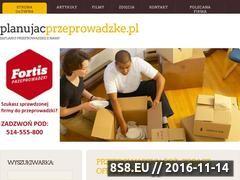 Miniaturka domeny www.planujacprzeprowadzke.pl