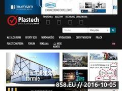 Miniaturka domeny www.plastech.pl