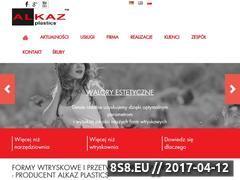 Miniaturka domeny www.plastics.alkaz.pl