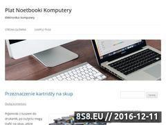 Miniaturka domeny www.plat-notebooki.pl