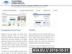 Miniaturka domeny www.platforma-forex.info.pl