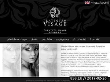 Zrzut strony Makijaż ślubny Warszawa