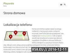 Miniaturka domeny www.playordie.pl