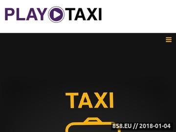 Zrzut strony Taxi Wrocław