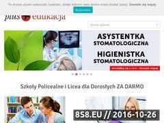 Miniaturka domeny www.plusedukacja.pl
