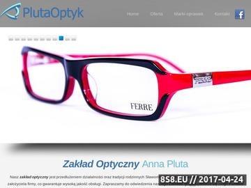 Zrzut strony Optyk, zakład optyczny