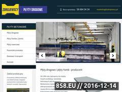 Miniaturka domeny www.plytydrogoweproducent.pl