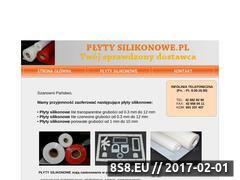 Miniaturka domeny www.plytysilikonowe.pl