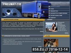 Miniaturka domeny www.pneumat-tir.pl