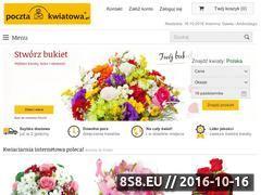 Miniaturka domeny www.pocztakwiatowa.pl