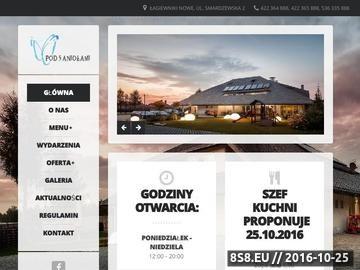 Zrzut strony Restauracja Pod 5 Aniołami oferuje pyszne dania polskie