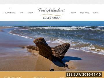 Zrzut strony Noclegi nad morzem, wyjątkowej klasy tanie noclegi w Jastrzębiej