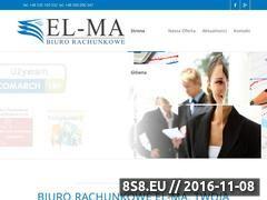 Miniaturka domeny podatki-elma.pl