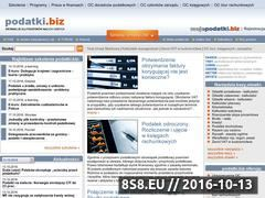 Miniaturka domeny www.podatki.biz