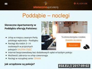 Zrzut strony Słoneczne Apartamenty w Poddąbiu i Dębinie