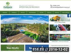 Miniaturka Zielone szkoły, kolonie i obozy, majówka Mazury (www.podlipami.mazury.pl)
