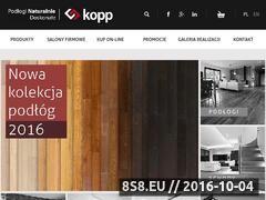 Miniaturka domeny www.podlogi-kopp.pl