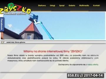 Zrzut strony Podnośniki koszowe - ZBYSZKO - Podnośnik koszowy - KŁODZKO
