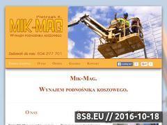 Miniaturka domeny www.podnosnikikoszowelodz.pl