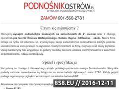 Miniaturka domeny podnosnikostrow.pl