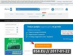 Miniaturka domeny podpis.iform.pl