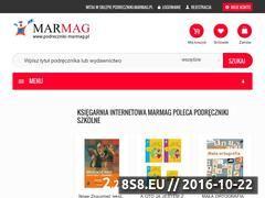 Miniaturka domeny www.podreczniki-marmag.pl