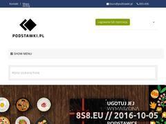 Miniaturka domeny www.podstawki.pl