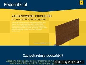 Zrzut strony Podbitki dachowe
