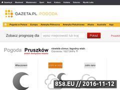 Miniaturka domeny pogoda.gazeta.pl