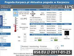 Miniaturka domeny www.pogoda.karpacz.pl