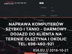 Miniaturka domeny www.pogotowiekomputerowe.olsztyn.pl