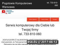 Miniaturka domeny pogotowiekomputerowe007.pl