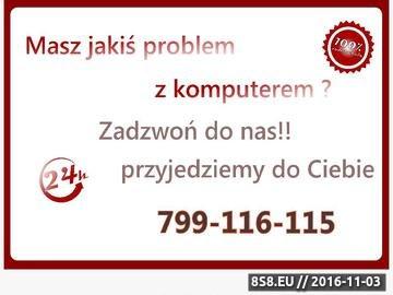 Zrzut strony Pogotowie komputerowe Lublin