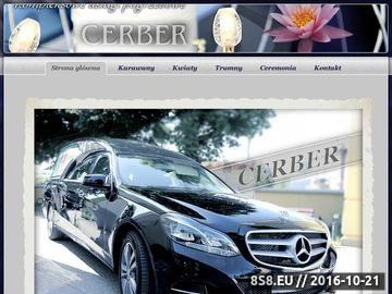 Zrzut strony Cerber - pogrzeby Nadarzyn