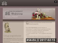 Miniaturka domeny www.pogrzebyrojewscy.pl