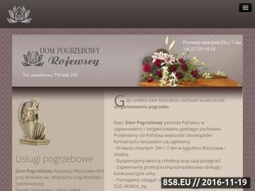 Zrzut strony Pogrzeby Rojewscy