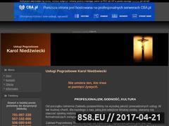 Miniaturka domeny www.pogrzebytravel.cba.pl
