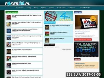 Zrzut strony Poker