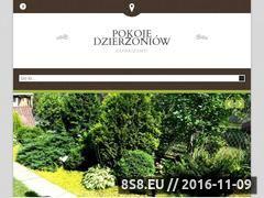 Miniaturka domeny www.pokojedzierzoniow.pl
