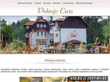 Zrzut strony Szklarska Poręba - nocleg