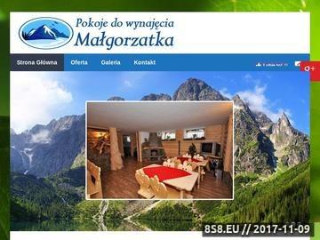 Zrzut strony Małgorzatka - wczasy w górach
