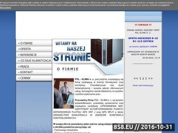 Zrzut strony Montaż klimatyzacji Gdynia - Pol-Klima s.c.