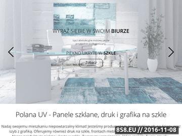 Zrzut strony Druk na szkle Poznań